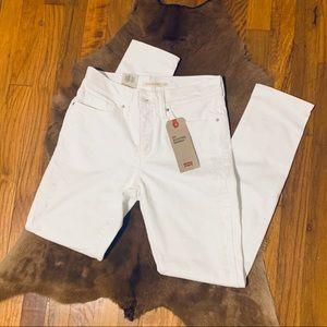 Brand New Levi's White Skinny Jeans